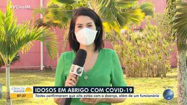 Porto Seguro: Idosos e funcionário de abrigo testam positivo para coronavírus - Oito pessoas foram acometidas pela doença.