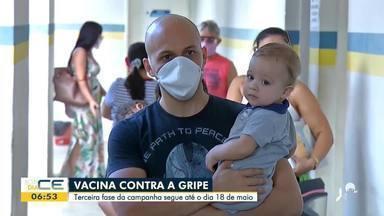 Campanha de vacinação contra a gripe segue em Juazeiro do Norte - Saiba mais em g1.com.br/ce