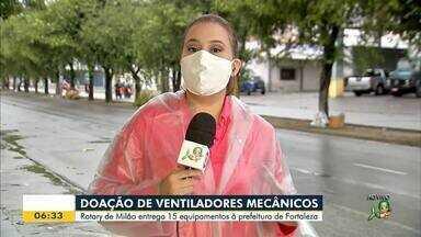 Rotary de Milão doa ventiladores mecânicos para a Prefeitura de Fortaleza - Saiba mais em g1.com.br/ce