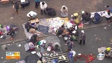 Moradores continuam se aglomerando na região da Cracolândia em São Paulo - Pelo segundo dia consecutivo, aglomeração é registrada no centro da capital.