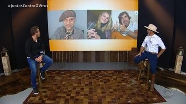 Reveja o quarto bloco do Galpão Crioulo deste domingo (17) - Assista ao vídeo.