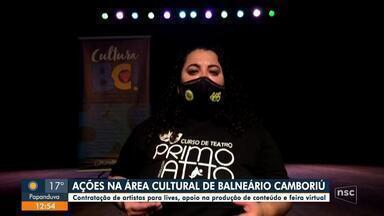 Balneário Camboriú lança projeto para divulgação do trabalho de artistas locais - Balneário Camboriú lança projeto para divulgação do trabalho de artistas locais