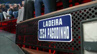 Serginho relembra o lançamento da Ladeira Zeca Pagodinho - A homenagem foi exibida em programa de 2018