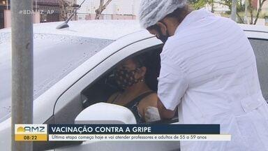 Inicia vacinação contra a Influenza em professores e adultos de 55 a 59 anos em Macapá - Inicia vacinação contra a Influenza em professores e adultos de 55 a 59 anos em Macapá