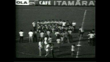 GloboEsporte.com retransmite nesta segunda-feira (18) a conquista da Taça de Prata do LEC - Partida foi em 18 de maio de 1980. Confira um trecho da cobertura antes do início do jogo.