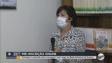 Diretoria de Ensino Regional de São Carlos abre pré-inscrição online para matrícula - Vagas são para escolas de Corumbataí, Descalvado, Dourado, Ibaté, Itirapina, Ribeirão Bonito e São Carlos (SP).