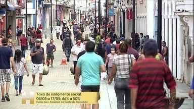 Hoje é o primeiro dia sem Lockdown em São Luís e em três cidades da região metropolitana - A restrição durou treze dias. E a taxa de isolamento ficou na média de 46% a 50%. Agora a população tem que cumprir as regras acertadas antes do lockdown.