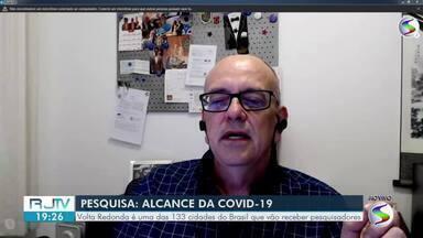Pesquisa da UFPEL sobre coronavírus é realizada em Volta Redonda - Objetivo é estimar a proporção de pessoas com anticorpos para a Covid-19 e analisar a evolução de casos na população brasileira.