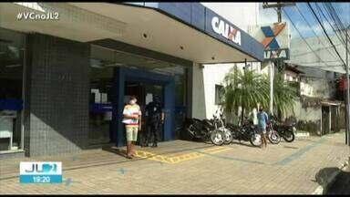 Caixa registra dia movimento tranquilo e sem longas filas em Belém - Caixa registra dia movimento tranquilo e sem longas filas em Belém