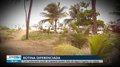 Pandemia muda rotina de pessoas em João Pessoa - Isolamento cria saudade de locais da cidade
