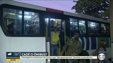 Flagrante de ônibus lotado chegando a Campo Grande. - Na estação de Campo Grande , os ônibus chegam lotados e não há fiscalização da prefeitura