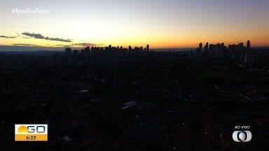 Goiânia amanhece com 17ºC - Tempo deve ter pouca nebulosidade. Temperatura máxima checa a 28ºC.
