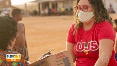 Ex-moradora monta rede de solidariedade e ajuda mais de 200 famílias - Campanha Doe Esperança tem como membro uma voluntária que morou por 20 anos na comunidade.