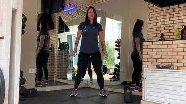 Minuto Esporte RPC: treino com alta carga metabólica para ajudar no condicionamento físic - Minuto Esporte RPC: treino com alta carga metabólica para ajudar no condicionamento físico