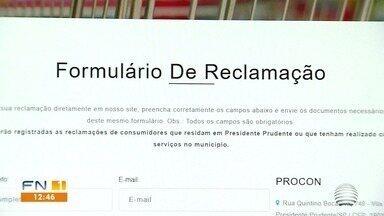 Plataformas digitais ganham forças durante a pandemia no Oeste Paulista - Serviços e reclamações podem ser feitos online.