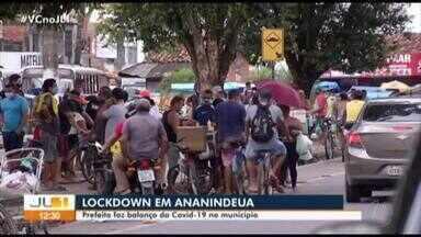 Prefeito de Ananindeua faz balanço da covid-19 no município - O município registra 1.449 casos confirmados e 118 óbitos pela doença.