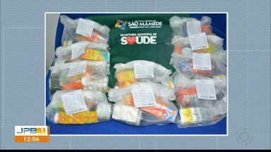 Prefeitura distribui kit com cloroquina para tratamento do coronavírus - Caso aconteceu em São Mamede.