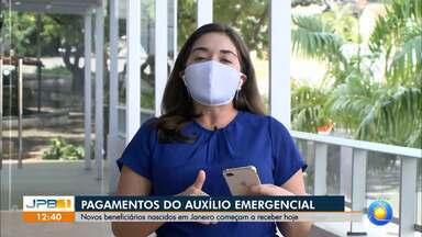 Pagamento da segunda parcela do auxílio emergencial começa - Nascidos em Janeiro são os primeiros beneficiados.