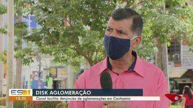 Disk Aglomeração facilita denúncias de aglomerações em Cachoeiro, ES - Canal é usado para fiscalizar esse tipo de situação.