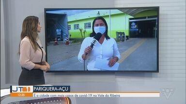 Pariquera-Açu registra mais casos de Covid-19 no Vale do Ribeira - Cidade tem hospital de referência que atende casos confirmados de pacientes com o novo coronavírus na região.
