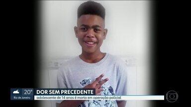 Adolescente de 14 anos é morto em operação policial no Salgueiro, em São Gonçalo - O rapaz foi socorrido pelo helicóptero da polícia e os pais ficaram sem informação. Souberam do falecimento de João Pedro apenas 17 horas depois.