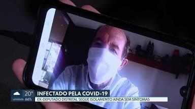 """Ex-deputado distrital Wasny é diagnosticado com coronavírus no DF - O anúncio foi feito por meio de comunicado divulgado à imprensa e nas redes sociais.No texto, o ex-parlamentar afirma que está em isolamento total em casa e que a Covid-19 """"não é uma gripezinha""""."""