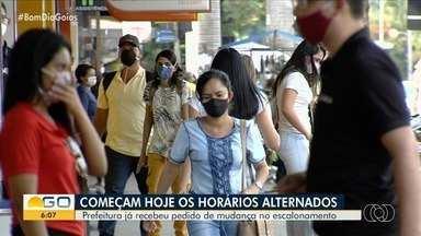 Começa virogar decreto que ordena o escalonamento de abertura do comércio em Goiânia - Lojas deverão abrir em horários específicos.