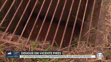 Vicente Pires registra aumento de 500% nos casos de dengue - 1.169 moradores da região foram contaminados este ano.