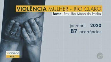 Chamadas para Patrulha Maria da Penha aumentaram 21% em Rio Claro durante a quarentena - Levantamento da Secretaria de Segurança Pública (SSP) do Estado de São Paulo mostra que violência contra a mulher aumentou devido ao isolamento.