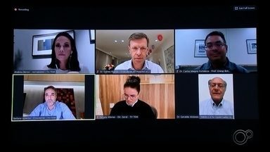 Série de encontros virtuais da TV TEM fala sobre ações na área da saúde - Uma série de entrevistas virtuais da TV TEM fala sobre área de saúde durante pandemia de coronavírus.