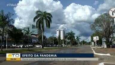 Governo e municípios têm queda na arrecadação durante pandemia - Governo e municípios têm queda na arrecadação durante pandemia