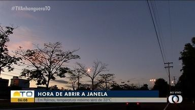 É hora de abrir a janela: veja como fica o tempo em Palmas nesta quarta-feira - É hora de abrir a janela: veja como fica o tempo em Palmas nesta quarta-feira