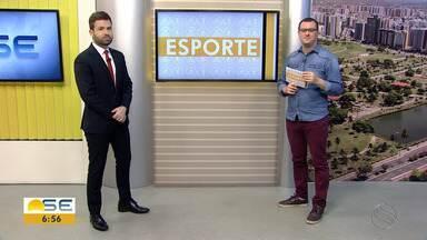 Thiago Barbosa fala sobre o esporte sergipano - Thiago Barbosa fala sobre o esporte sergipano.