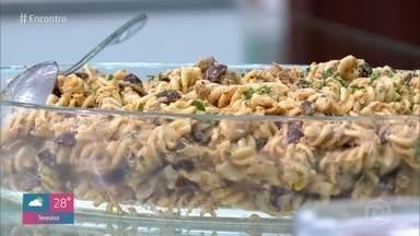 Ana Maria Braga ensina uma receita deliciosa de macarrão - Confira, anote e aprenda essa receita simples de macarrão