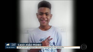 Delegacia de Homicídios deve ouvir policiais que participaram da operação que resultou na morte de jovem em São Gonçalo - João Pedro Mattos Pinto, de 14 anos, foi baleado na segunda-feira (18), durante uma operação no Complexo do Salgueiro, em São Gonçalo.