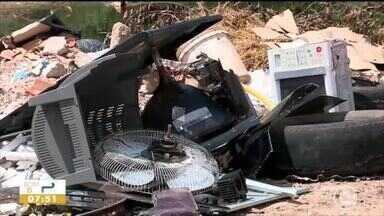 Moradores de bairro de Teresina relatam problemas com coleta de lixo - Moradores de bairro de Teresina relatam problemas com coleta de lixo