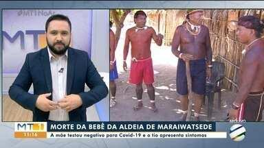 Bebê de aldeia indígena morre vítima da Covid-19 - Bebê de aldeia indígena morre vítima da Covid-19.