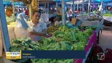 Saiba os riscos de contaminação por meio de degustação de alimentos - Em Santarém, essas práticas acontecem nas feiras.