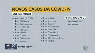 SES-MG confirma duas novas mortes por coronavírus no Sul de MG - Veja informações do novo boletim desta quinta-feira