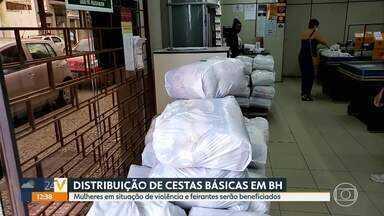 Prefeitura de Belo Horizonte amplia distribuição de cestas básicas - Mulheres em situação de violência e feirantes serão beneficiados.