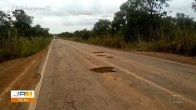 Motoristas reclamam da precariedade de rodovias que dá acesso a Pedro Afonso e região - Motoristas reclamam da precariedade de rodovias que dá acesso a Pedro Afonso e região