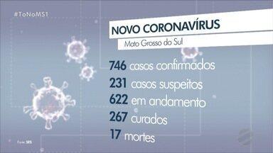 MS chega a 746 casos confirmados de COVID-19 nesta quinta (21) - Secretaria de Saúde volta a alertar sobre o crescimentos dos casos nos próximos dias