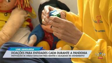 Entidades assistenciais pedem doações em Atibaia - Pandemia afetou volume de doações.