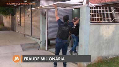 Operação investiga fraude contra empresas na Região Metropolitana de Porto Alegre - Nesta quinta-feira (21), Foram cumpridos sete ordens judiciais de mandados de busca e apreensão em quatro cidades no Rio Grande do Sul.