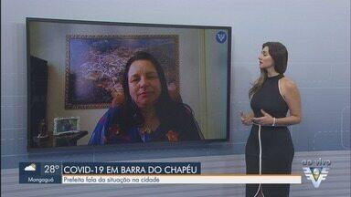 Prefeita de Barra do Chapéu explica situação da pandemia na cidade - Cidade do Vale do Ribeira também tem medidas para evitar o coronavírus.