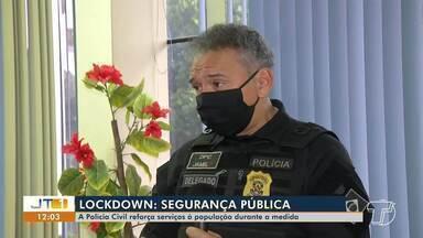 Polícia Civil reforça serviços e monta esquema para atender casos durante o lockdown - Em Santarém, equipes de segurança continuarão realizando atendimentos à população.