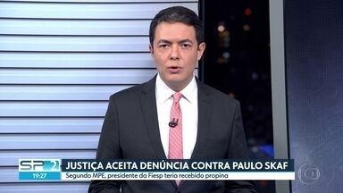 Justiça Eleitoral abre ação contra Paulo Skaf - Segundo Ministério Público Eleitoral, presidente da Fiesp teria recebido propina da construtora Odebrecht durante a campanha de 2014.