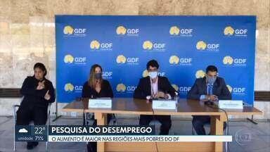 Codeplan divulga pesquisa de emprego e desemprego no DF - Segundo o levantamento, mais de 300 mil pessoas estão sem trabalho.