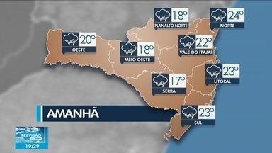 Veja a previsão do tempo para Santa Catarina - Veja a previsão do tempo para Santa Catarina