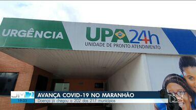 202 de 217 cidades do Maranhão já registram casos do novo coronavírus - Na capital maranhense, situação é de melhora, mas ainda é necessário cautela.